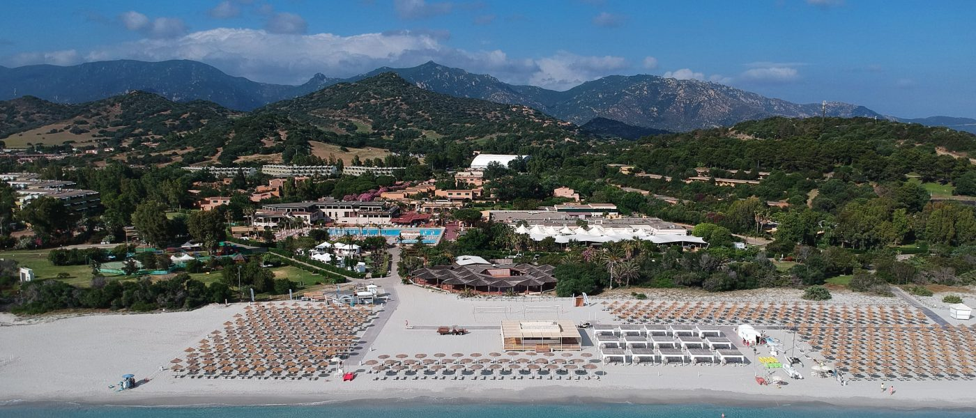 Event Beach Resort Sardinia - aerial