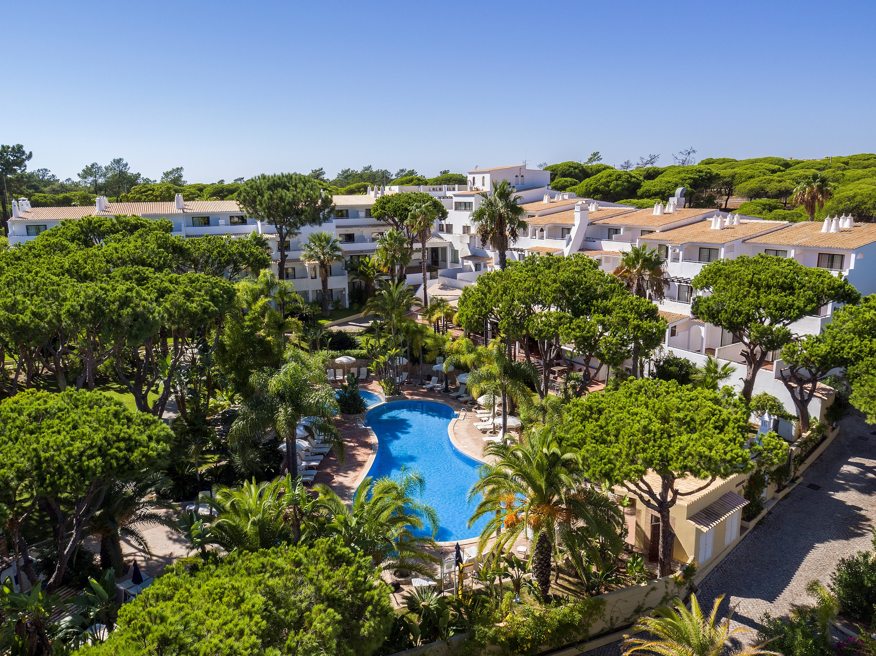 Event Resort Algarve - Pool Aerial