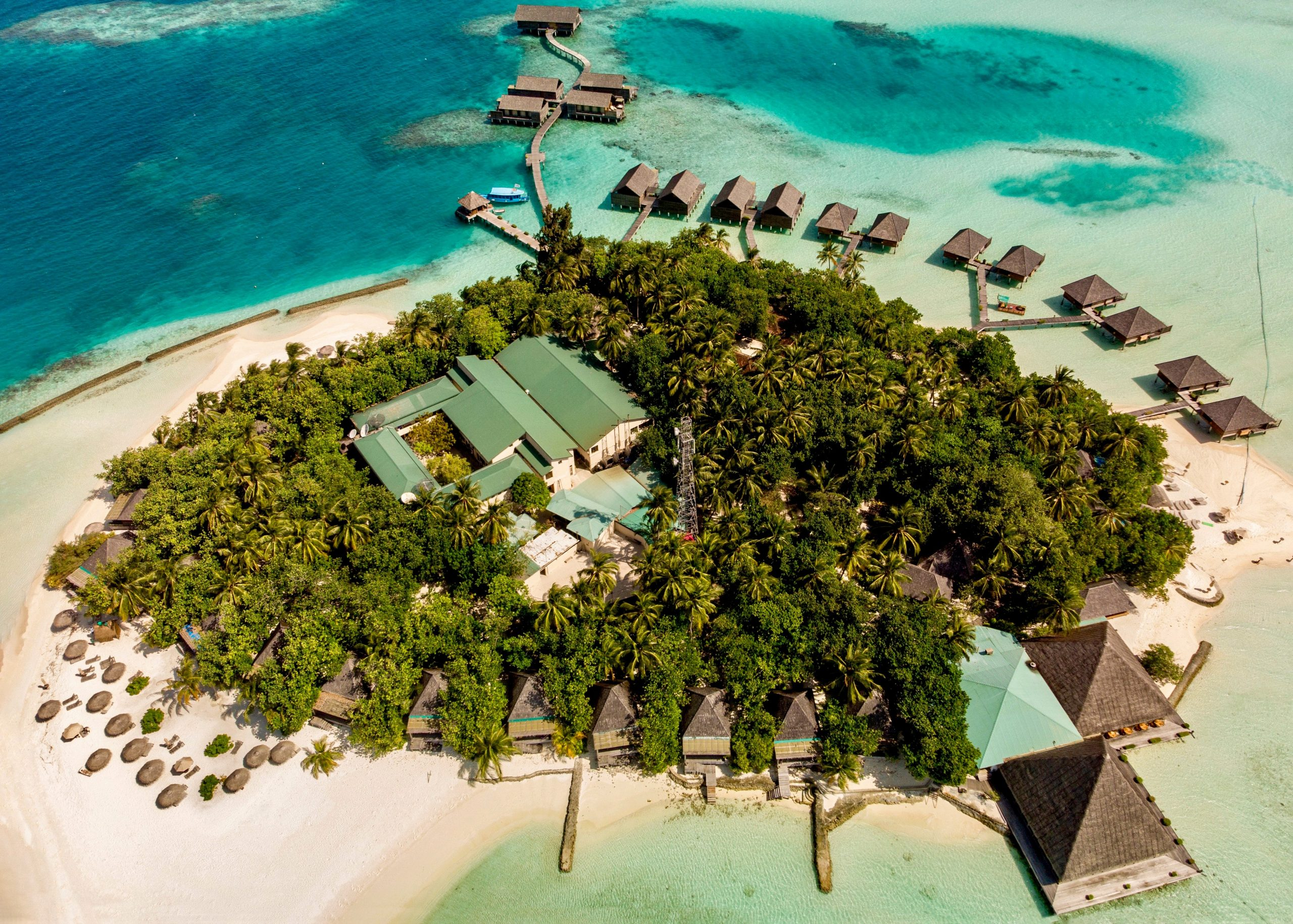 Private Island Resort Maldives-aerial