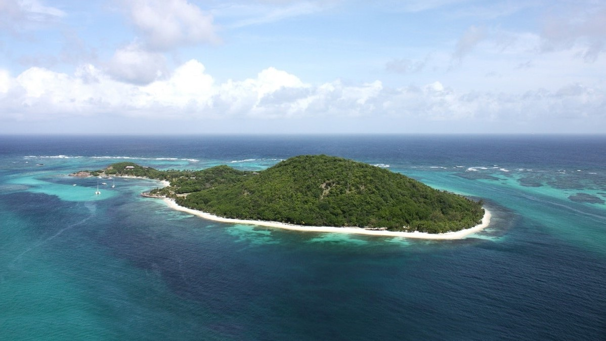 Private Island West Indies_from above