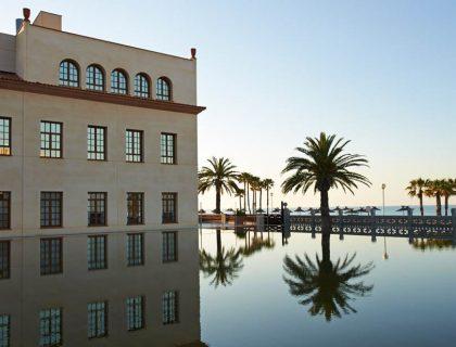 Le Meridien Ra Beach five star wedding hotel in barcelona